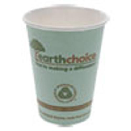 Pactiv EarthChoice Hot Cups  12 oz  Teal  1 000 Carton (PCTDPHC12EC)