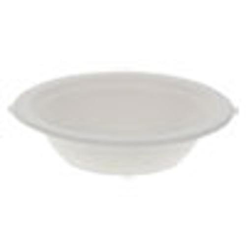 Pactiv EarthChoice Compostable Fiber-Blend Bagasse Dinnerware  Bowl  6 38 Diameter  12 oz  Natural  1 000 Carton (PCTMC500120001)
