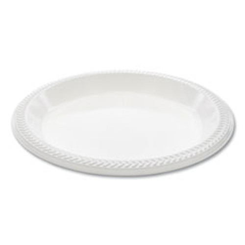 Pactiv MeadowareA   OPS Dinnerware  Plate  10 25  Diameter  Black  500 Carton (PCTMI10)