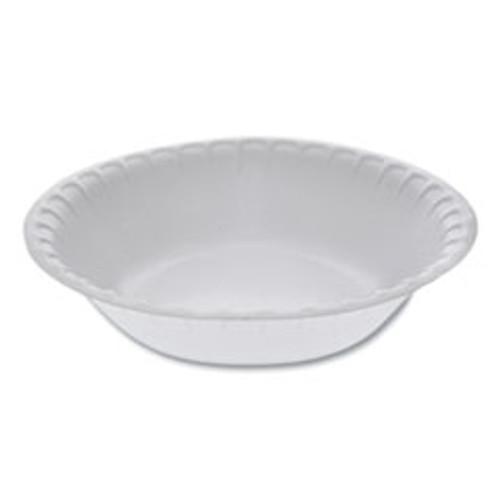 Pactiv Unlaminated Foam Dinnerware  Bowl  30 oz  6  Diameter  White  450 Carton (PCTYTH10030)