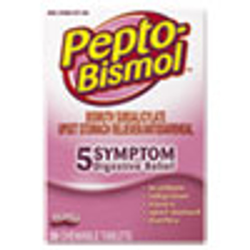 Pepto-Bismol Chewable Tablets  Original Flavor  30 Box (PGC03977BX)