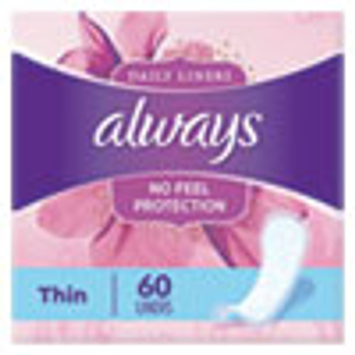 Always Thin Daily Panty Liners  Regular  60 Pack (PGC08282PK)