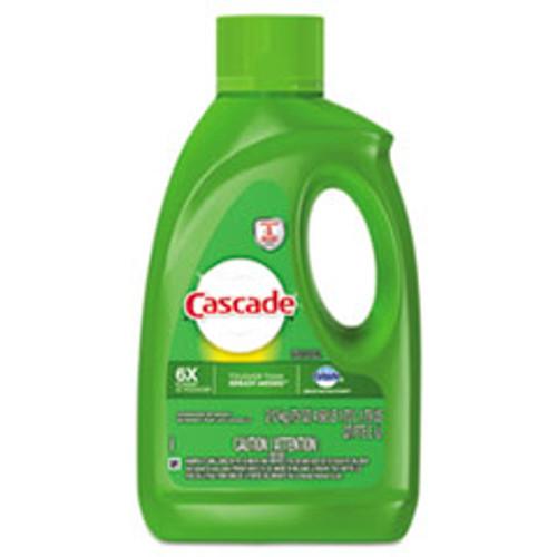 Cascade Dishwasher Gel with Dawn  Fresh  75 oz Bottle  6 Carton (PGC40152)