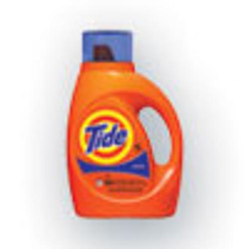 Tide Liquid Tide Laundry Detergent  32 Loads  46 oz Bottle  6 Carton (PGC40213)