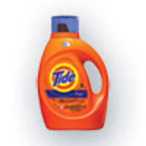 Tide HE Laundry Detergent  Original Scent  Liquid  64 Loads  92 oz Bottle (PGC40217EA)