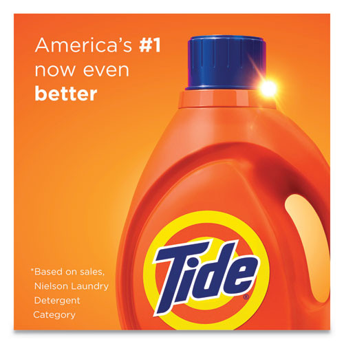 Tide Liquid Laundry Detergent  Original Fresh Scent  64 Loads  92 oz Bottle (PGC40218EA)