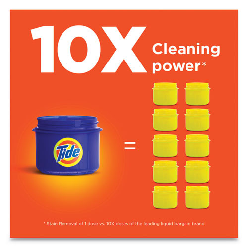 Tide HE Laundry Detergent  Original Scent  96 Loads  138 oz Pump Bottle  4 Carton (PGC40365)