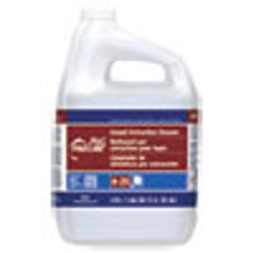 P&G Pro Line  25 Carpet Extraction Cleaner  Peach Scent  1 Gallon Bottle  4 Carton (PGC57472)