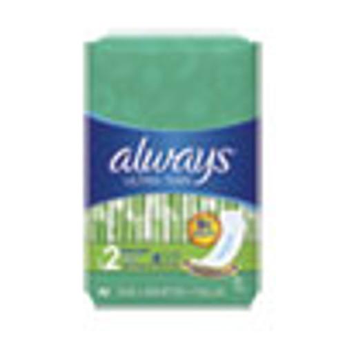 Always Ultra Thin Pads  Super Long 10 Hour  40 Pack  6 Packs Carton (PGC59874)