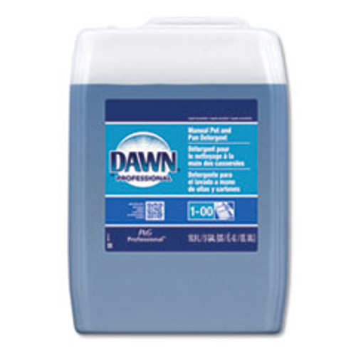 Dawn Professional Manual Pot Pan Dish Detergent  Original Scent  Five Gallon Cube (PGC70681)