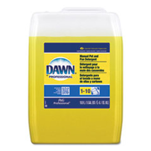 Dawn Professional Manual Pot Pan Dish Detergent  Lemon Scent  Liquid  5 gal Pail (PGC70682)