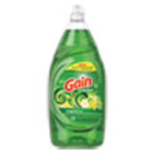 Gain Dishwashing Liquid  Gain Original  38 oz Bottle  8 Carton (PGC74346)