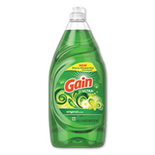 Gain Dishwashing Liquid  Gain Original  38 oz Bottle (PGC74346EA)