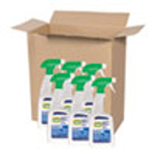 Comet Disinfecting Cleaner w Bleach  32 oz  Plastic Spray Bottle  Fresh Scent  6 Carton (PGC75350)