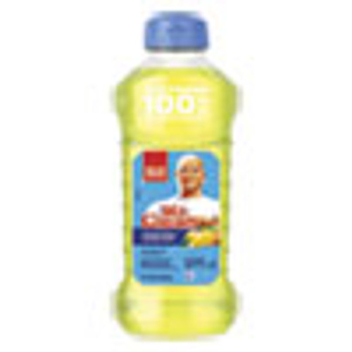 Mr. Clean Multi-Surface Antibacterial Cleaner  Summer Citrus  28 oz Bottle  9 Carton (PGC77130)