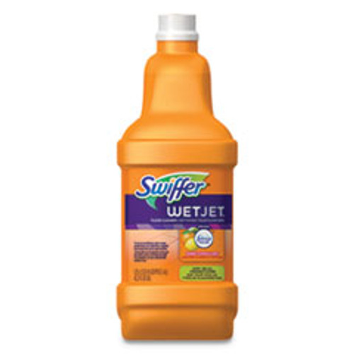 Swiffer WetJet System Cleaning-Solution Refill  Citrus Scent  1 25 L Bottle  4 Carton (PGC77812)