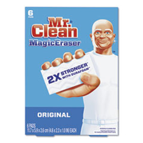 Mr. Clean Magic Eraser  2 3 10 x 4 3 5 x 1  White  6 Pack  6 Pack Carton (PGC79009)