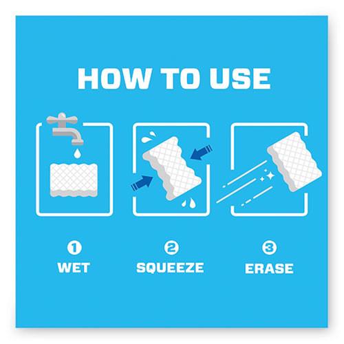 Mr. Clean Magic Eraser  2 3 10 x 4 3 5 x 1  White  6 Pack (PGC79009PK)