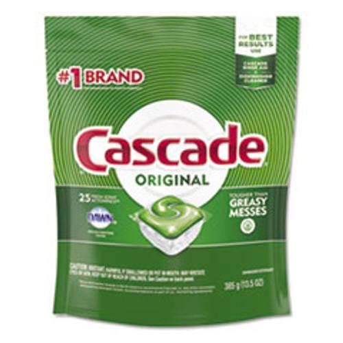 Cascade ActionPacs  Fresh Scent  13 5 oz Bag  25 Pack (PGC80675PK)