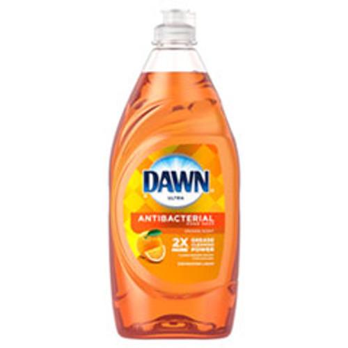 Dawn Ultra Antibacterial Dishwashing Liquid  Orange Scent  28 oz Bottle (PGC97318EA)