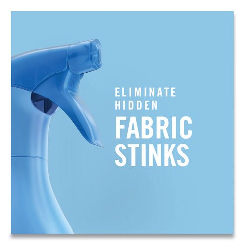 Febreze FABRIC Refresher Odor Eliminator  Downy April Fresh  27 oz Spray Bottle  4 Carton (PGC97590)