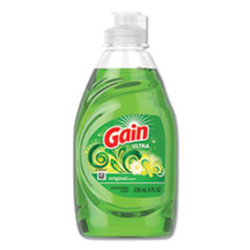 Gain Dishwashing Liquid  Gain Original  8 oz  Bottle  18 Carton (PGC97614)