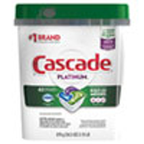 Cascade ActionPacs  Fresh Scent  34 5 oz  62 Bag  3 Bags Carton (PGC97726)