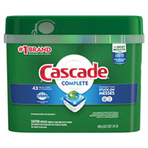Cascade ActionPacs  Fresh Scent  22 5 oz Tub  43 Tub (PGC98208PK)