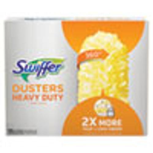 Swiffer Heavy Duty Dusters Refill  Dust Lock Fiber  2  x 6   Yellow  33 Carton (PGC99035)