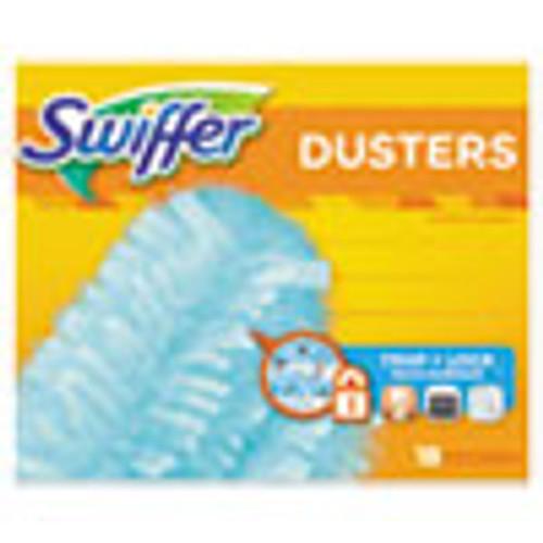 Swiffer Refill Dusters  Dust Lock Fiber  2  x 6   Light Blue  18 Box  4 Boxes Carton (PGC99036)