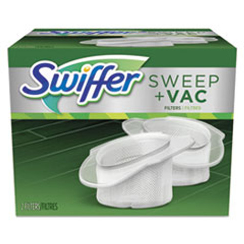 Swiffer Sweeper Vac Replacement Filter  OEM  2 Filters Pack  8 Packs Carton (PGC99196)