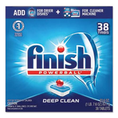 FINISH Powerball Dishwasher Tabs  Fresh Scent  38 Box (RAC20622)