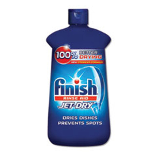FINISH Jet-Dry Rinse Agent  8 45oz Bottle  8 Carton (RAC75713CT)