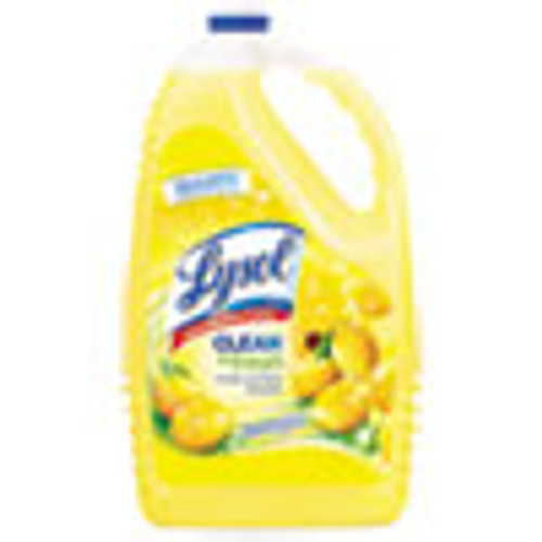 LYSOL Brand Clean and Fresh Multi-Surface Cleaner  Sparkling Lemon and Sunflower Essence  144 oz Bottle (RAC77617EA)