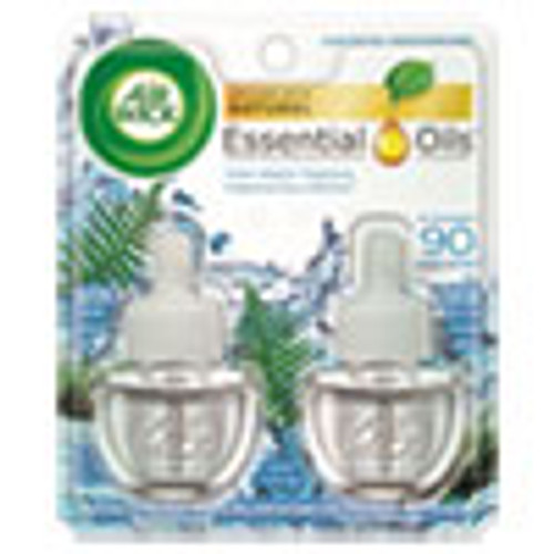 Air Wick Scented Oil Refill  Fresh Waters  0 67 oz  2 Pack (RAC79717PK)