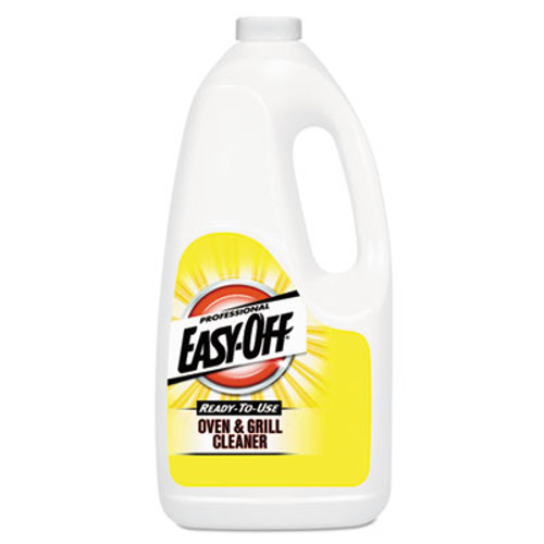 Professional EASY-OFF Ready-to-Use Oven and Grill Cleaner  Liquid  2qt Bottle  6 Carton (RAC80689CT)