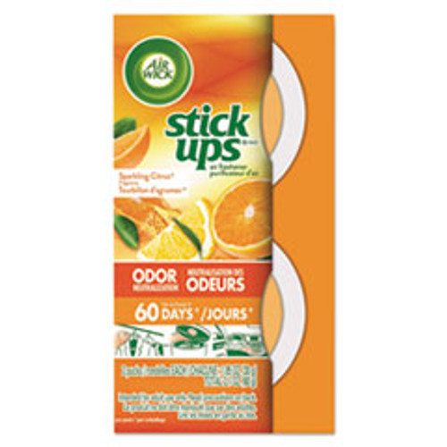 Air Wick Stick Ups Air Freshener  2 1 oz  Sparkling Citrus (RAC85826PK)