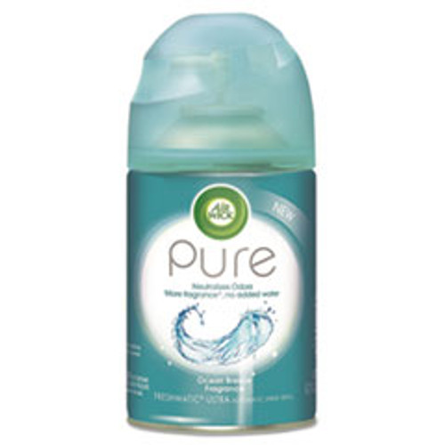 Air Wick Freshmatic Ultra Automatic Pure Refill  Ocean Breeze  5 89 oz Aerosol (RAC98000EA)