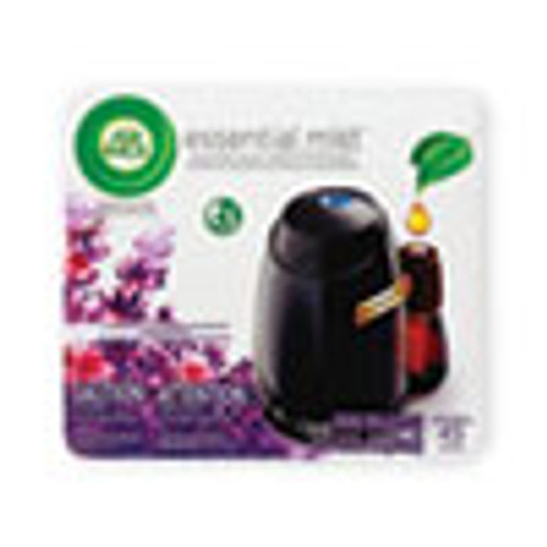 Air Wick Essential Mist Starter Kit  Lavender and Almond Blossom  0 67 oz  4 Carton (RAC98576)