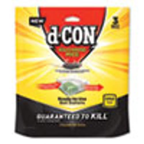 d-CON Disposable Bait Station  3w x 3d x 1 1 4h  6 Carton (RAC99427)