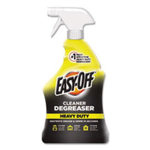 EASY-OFF Heavy Duty Cleaner Degreaser  32 oz Spray Bottle  6 Carton (RAC99624)