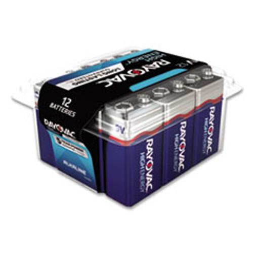 Rayovac Alkaline 9V Batteries  12 Pack (RAYA160412PPK)
