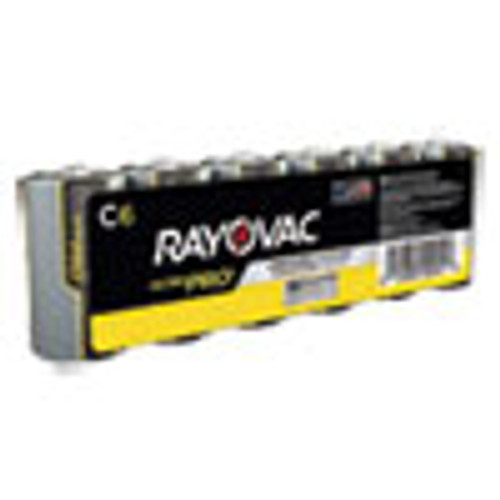 Rayovac Ultra Pro Alkaline C Batteries  6 Pack (RAYALC6J)
