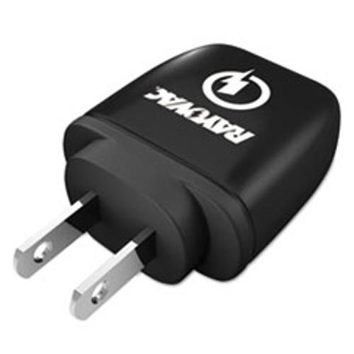Rayovac Single USB Wall Charger  1 USB Port  Black (RAYPS101E)