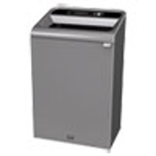 Rubbermaid Commercial Configure Indoor Recycling Waste Receptacle  33 gal  Gray  Landfill (RCP1961628)