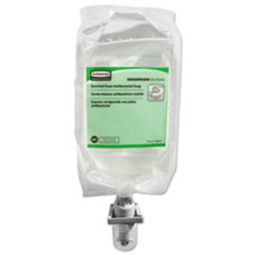 Rubbermaid Commercial E2 Antibacterial Enriched-Foam Soap Refill  Floral  1100 mL (RCP2018595)