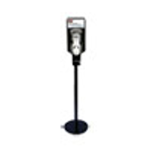 Rubbermaid Commercial TC AutoFoam Touch-Free Hand Sanitzer Dispenser Stand  14 96 x 14 96 x 58 87  Black (RCP750824)