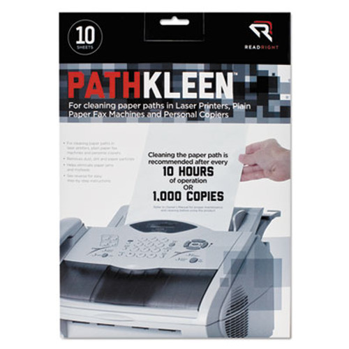 Read Right PathKleen Sheets  8 1 2 x 11  10 Pack (REARR1237)