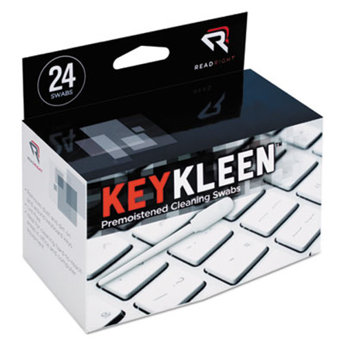 Read Right KeyKleen Premoistened Cleaning Swabs  24 Box (REARR1243)