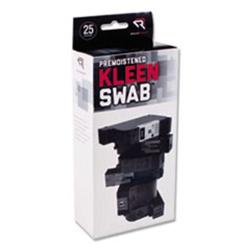 Read Right KleenSwabs Printer Cleaner Swabs  25 Box (REARR1245)